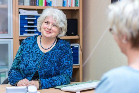 Dr. med. Renate Lingen, Fachärztin für Allgemeinmedizin, Akupunktur