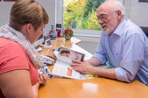 Patientengespräch Gemeinschaftspraxis Waake