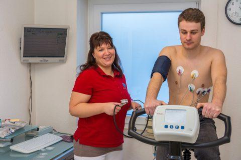 Belastungs-EKG - Gemeinschaftspraxis Waake