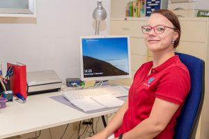 Manuela Martin - Auszubildende zur Medizinischen Fachangestellten